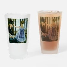 The Railroad Drinking Glass