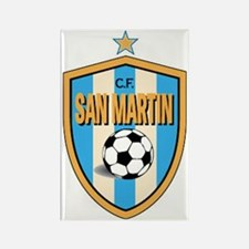 *San-Martin-CF-Argentina shield Rectangle Magnet