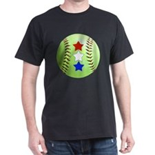 Softball Stars Jewelry, Magnets, Butt T-Shirt