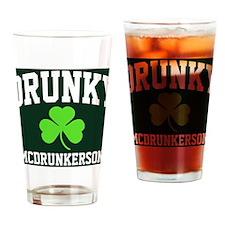 Drunky Btn1 Drinking Glass
