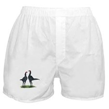 Blue Modern Games Boxer Shorts