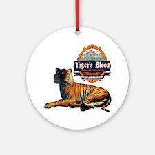 tigersblood shirt Round Ornament