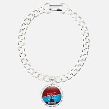 BadAttitude_circle Bracelet