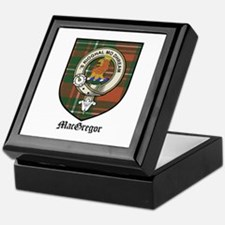 MacGregor Clan Crest Tartan Keepsake Box