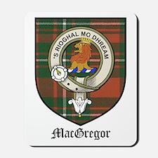 MacGregor Clan Crest Tartan Mousepad