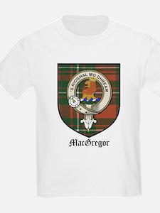 MacGregor Clan Crest Tartan Kids T-Shirt