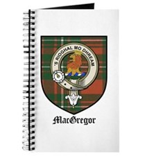 MacGregor Clan Crest Tartan Journal