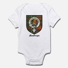 MacGregor Clan Crest Tartan Infant Bodysuit