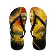 Ancient of Days Flip Flops