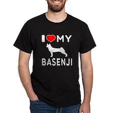 I Love My Basenji T-Shirt
