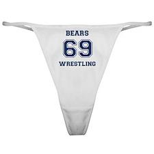 Bears Wrestling Classic Thong