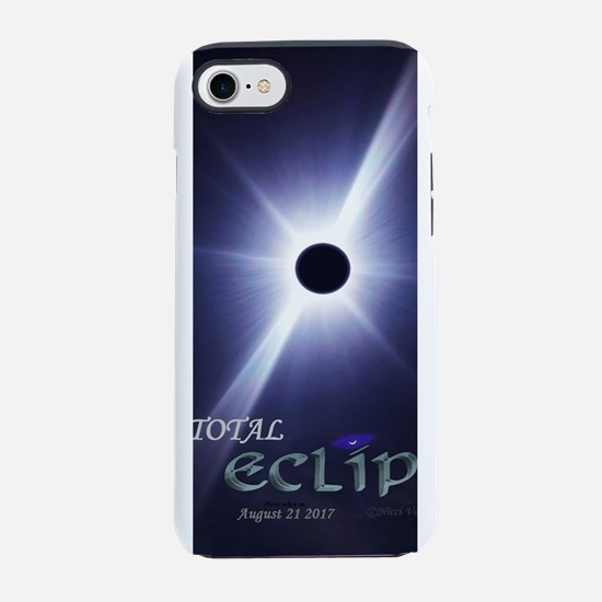 Amazing Total Eclipse 2017 iPhone 7 Tough Case
