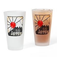 Mt fuji Drinking Glass