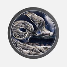 Whirlwind of Lovers Wall Clock