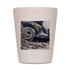 Whirlwind of Lovers Shot Glass