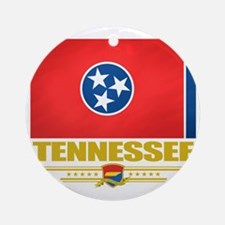 Tennessee (Flag 10) Round Ornament