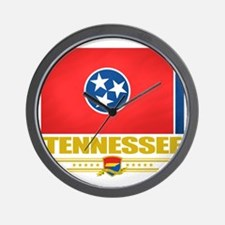 Tennessee (Flag 10) Wall Clock
