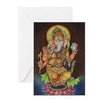 Ganesha Greeting Cards (Pk of 10)