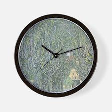 Avenue of Trees Wall Clock