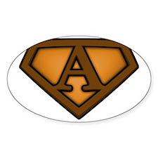 Super brown a Decal