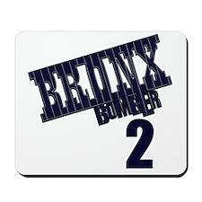 Bronx Bomber Jeter No 2 Mousepad