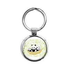 Panda in Hammock Keychains