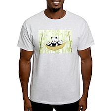 Panda in Hammock T-Shirt
