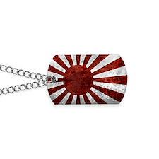 Japanese Land Rising Sun Sticker Dog Tags
