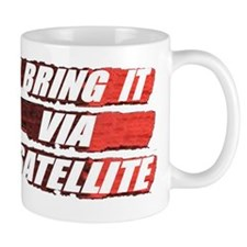 new satellite t shirt Mug