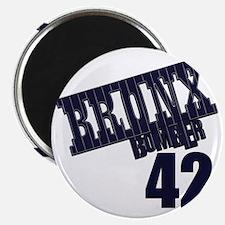 Bronx Bomber Rivera No 42 Magnet