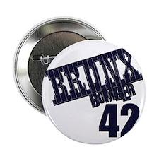 "Bronx Bomber Rivera No 42 2.25"" Button"