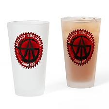ATG logo Drinking Glass