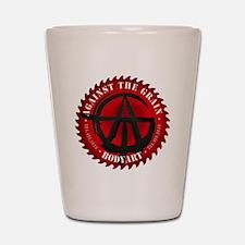 ATG logo Shot Glass