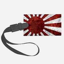 Japanese License Plate Rising Su Luggage Tag