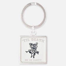 death-party-DKT Square Keychain
