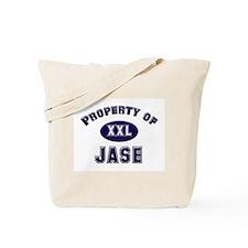 Property of jase Tote Bag