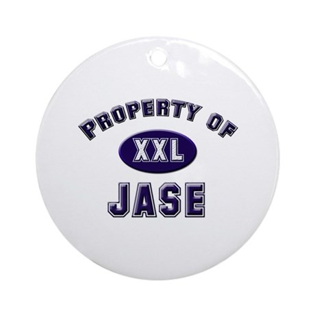 Property of jase Ornament (Round)