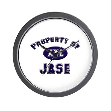 Property of jase Wall Clock