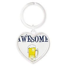 Awesome Heart Keychain