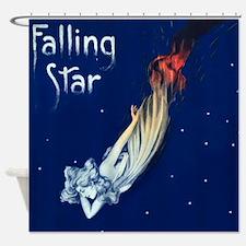 Falling Star Shower Curtain