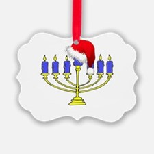 Christmas Menorah Ornament