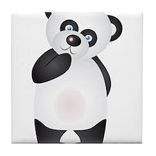 Thinking Panda Tile Coaster