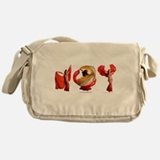 Cute Quinn Messenger Bag