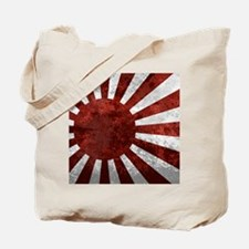 Japanese Rising Sun Mousepad Tote Bag