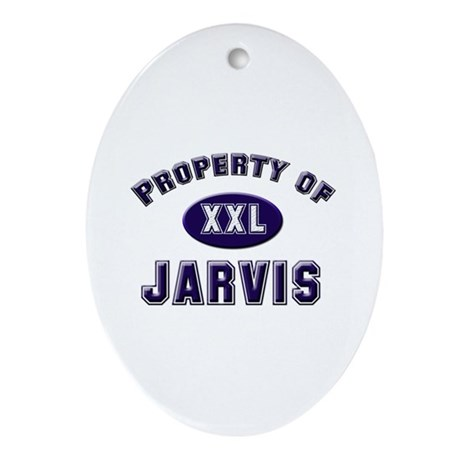 Property of jarvis Oval Ornament