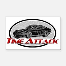 Time-Attack Rectangle Car Magnet