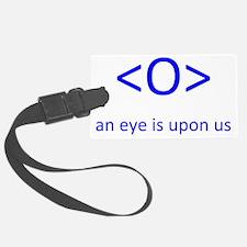 An Eye Luggage Tag