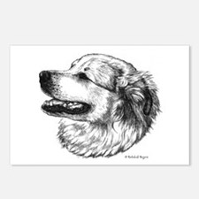 Pyr side view Postcards (Package of 8)