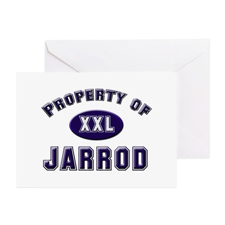Property of jarrod Greeting Cards (Pk of 10)