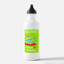 Hey dude 5th Birthday Water Bottle